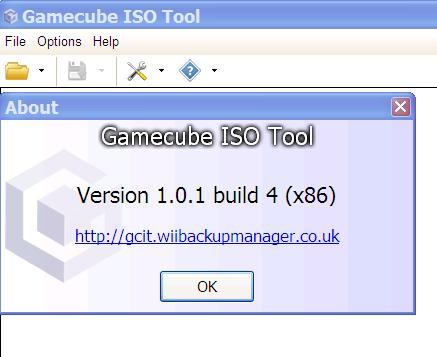 在Windows環境下轉換GC遊戲檔案的工具:GameCube ISO Tool (5/19